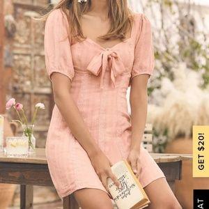 Lulu's Madeline Blush Dress
